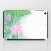 lotus flower iPad Cases featuring Lotus by marryweather