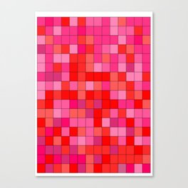 PINK  SQUARE Canvas Print