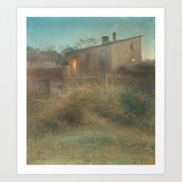 NILS KREUGER,  (DUSK). Art Print