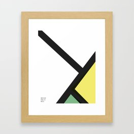 -3 Framed Art Print
