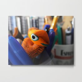 Hatching From My Pens Metal Print