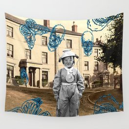 haunted child Wall Tapestry