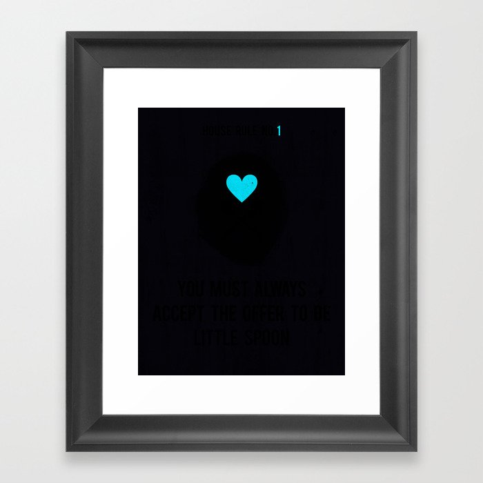 Little Spoon Framed Art Print