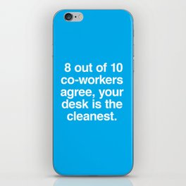 Cleanest Desk iPhone Skin