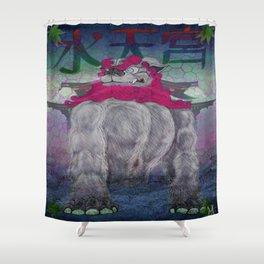Guardian of the Suiten-gu  Shower Curtain