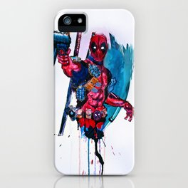Merc With A Mouth! iPhone Case