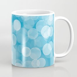 Blue Bokeh Coffee Mug