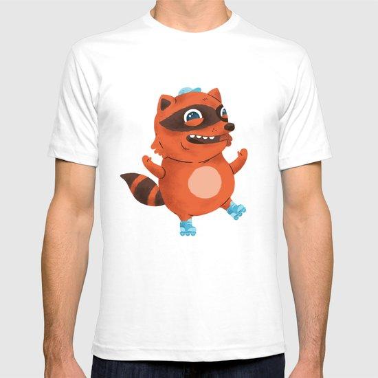 Rollerblade Raccoon T-shirt