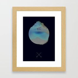 Woods Framed Art Print