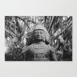 Shiva Statue - Kauai, Hawaii Canvas Print