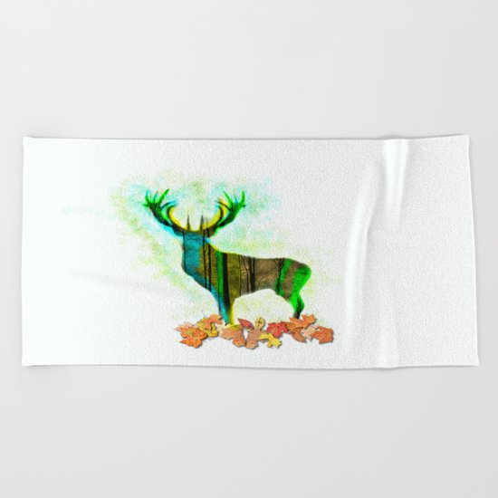 Deerskin Beach Towel
