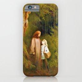 Karl Wilhelm Diefenbach - Abschied - Digital Remastered Edition iPhone Case