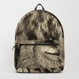 eagle owl Backpack