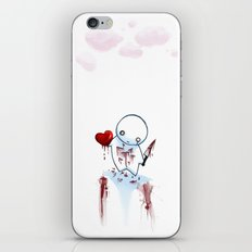 No Heart, No Pain. iPhone & iPod Skin