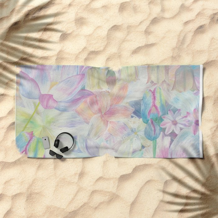 All the colors Beach Towel