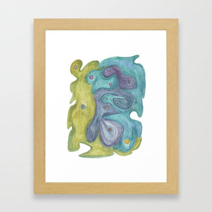 Drawing #113 Framed Art Print