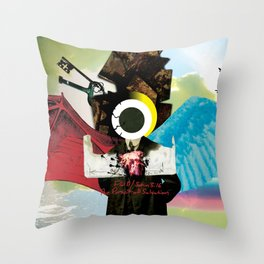 The Pursuit of Salvation Throw Pillow