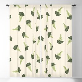 Broccoli Blackout Curtain
