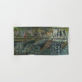 Claude Monet - Bathers at La Grenouillère Hand & Bath Towel