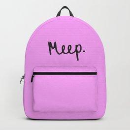 Meep. Backpack