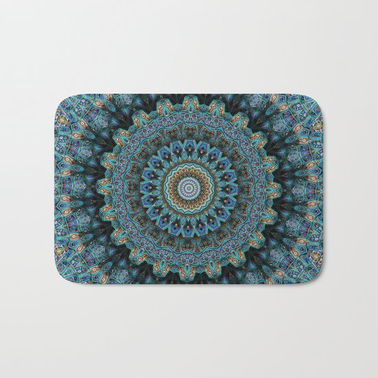 Spiral Eye Bath Mat