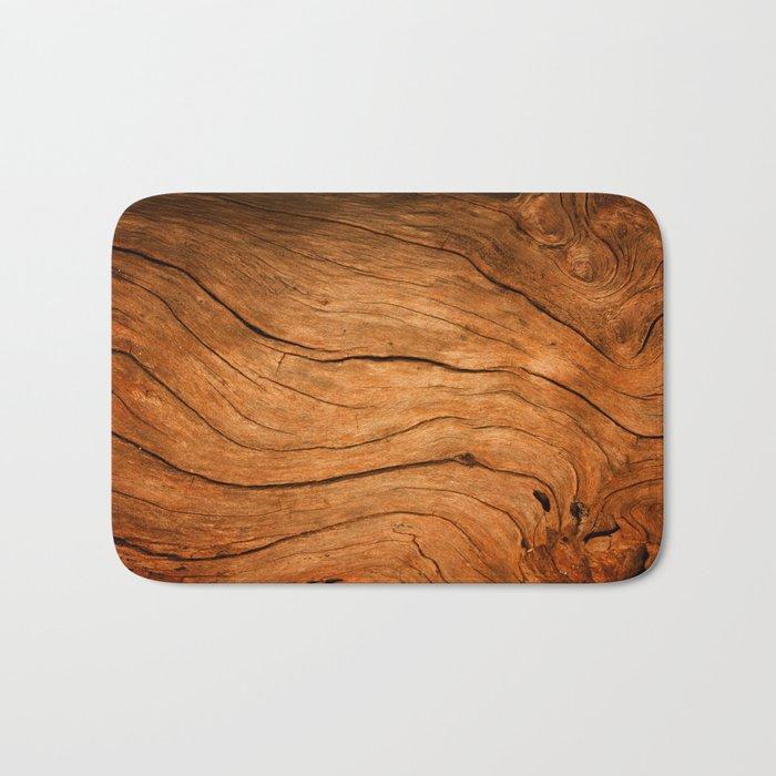 Wood Texture 99 Bath Mat