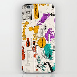 Wonders of Life Placemat iPhone Skin
