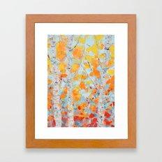 Aspen October Framed Art Print