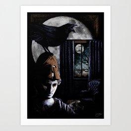 """The Raven"" - Edgar Allan Poe Series Art Print"