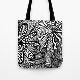 Full Page Zentangles Print Tote Bag