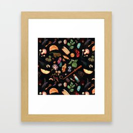 Practical Hexes Framed Art Print