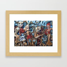 Marketplace Framed Art Print