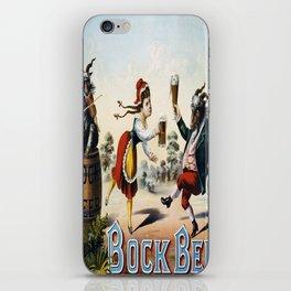 Vintage poster - Bock Beer iPhone Skin
