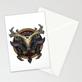 Hunter Sigil Stationery Cards
