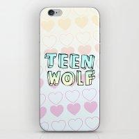 teen wolf iPhone & iPod Skins featuring TEEN WOLF by Sara Eshak
