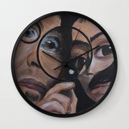 intergalactic travellers Wall Clock