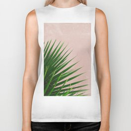 Summer Time | Palm Leaves Photo Biker Tank