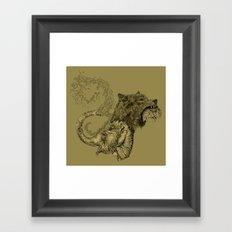 Elewolf Framed Art Print
