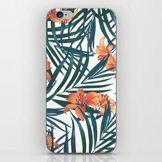 Tropical Lilies iPhone & iPod Skin
