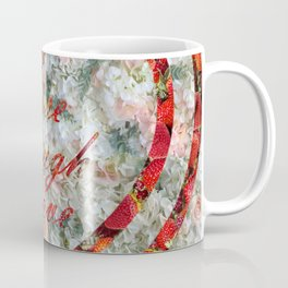 Live Laugh Love in Hearts Coffee Mug