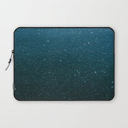 Blue Snowflakes Laptop Sleeve
