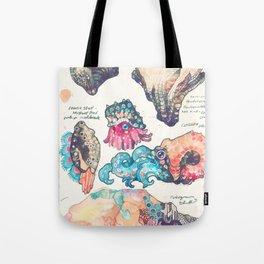 Sketchbook - Sea gizmos Tote Bag