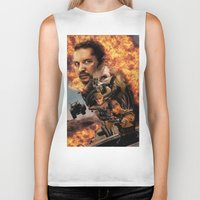mad max Biker Tanks featuring Mad Max by SB Art Productions