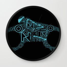 Tron Legacy: Light Cycle Wall Clock