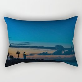 The Lighthouse on the Point Rectangular Pillow