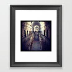 Upstairs- Filtered Framed Art Print