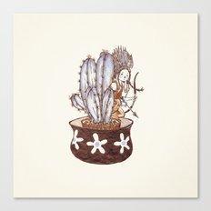 Useful Cactus Canvas Print