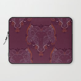 Eastern Screech Owl ~ Purple  Laptop Sleeve