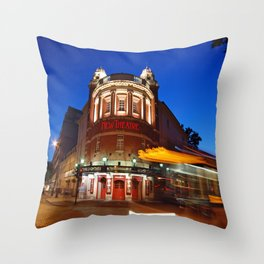 Come in No 58 Throw Pillow
