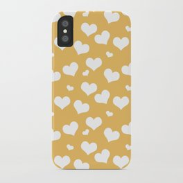 Flying Hearts iPhone Case